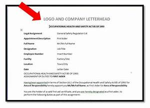 Sample Compliance Officer Appointment Letter - Contoh 36