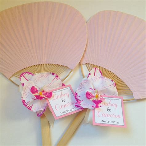 hand fans for wedding paddle fan with orchid rainbow paddle fan beach wedding