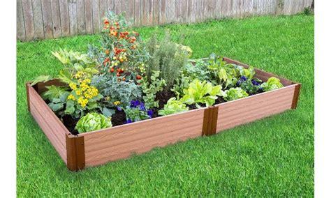 Classic Sienna Raised Garden Bed, 4 Feet X 8 Feet X 11
