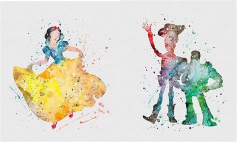 Disney夢幻水彩桌布 12款任選公主系列最吸睛   LIFESTYLE   新Monday