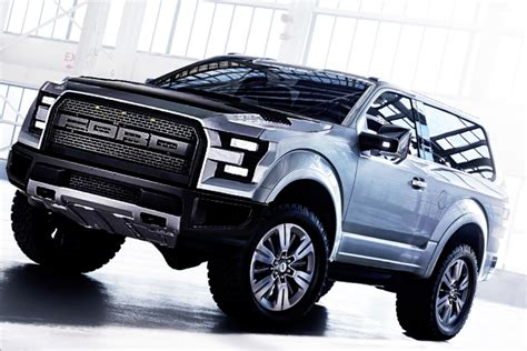 ford svt bronco raptor concept trucks pickup