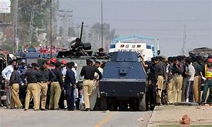 16 killed in Pakistan as suicide bomber shouting 'Allahu ...