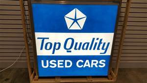 Quote Jobs Online Dodge Pentastar Top Quality Used Cars Lighted Sign