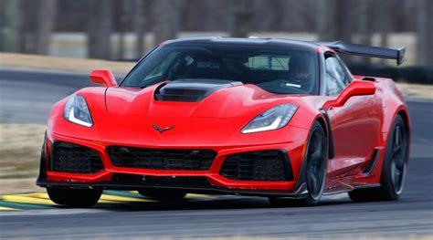 corvette zr fastest production car  vir