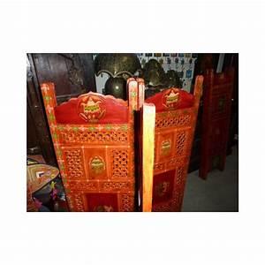 Paravent Tete De Lit : paravent t te de lit signes buddhist orange rg ~ Teatrodelosmanantiales.com Idées de Décoration