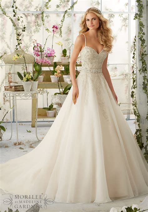 Dress Mori Lee Bridal Spring 2016 Collection 2824