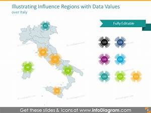 Spain Italy Maps South Europe Ppt Editable Greece Portugal