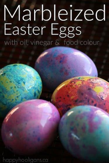 marbleized easter eggs happy hooligans