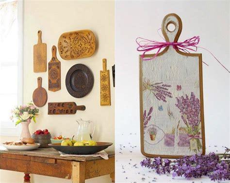 d馗o murale cuisine accessoires de cuisine en bois 17 idées originales et nature