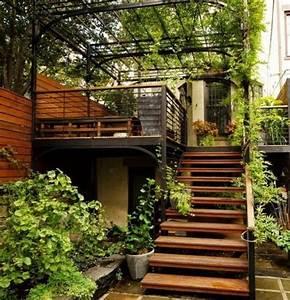 l39escalier exterieur en 57 photos qui vous feront rever With photo de jardin de maison 13 decoration escalier exterieur