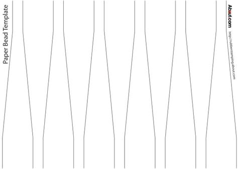 paper bead template best photos of paper bead template paper bead templates free paper bead templates and free