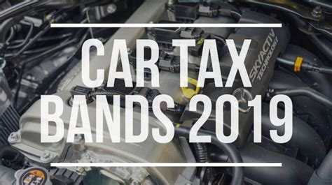 car tax bands  road tax rates    cars