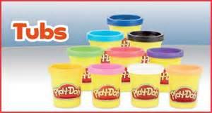mini play doh tubs playdoh go argos