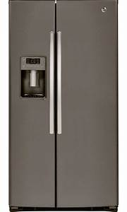 GE Appliances GSE26HMEES 25.9 cu. ft. Side-by-Side ...