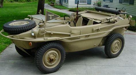 Restored Amphibious 1944 Vw Schwimmwagen