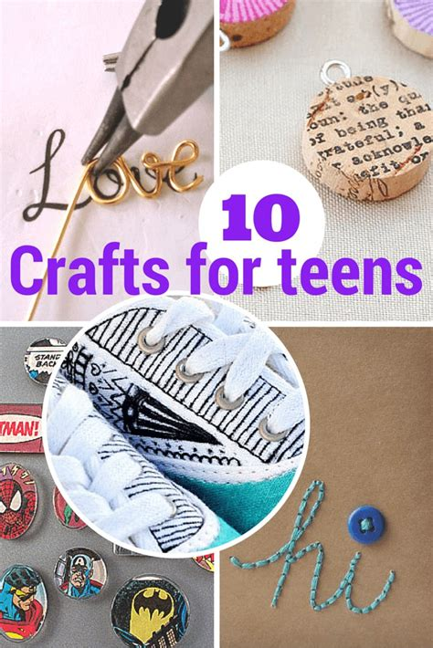 terrific crafts  teens