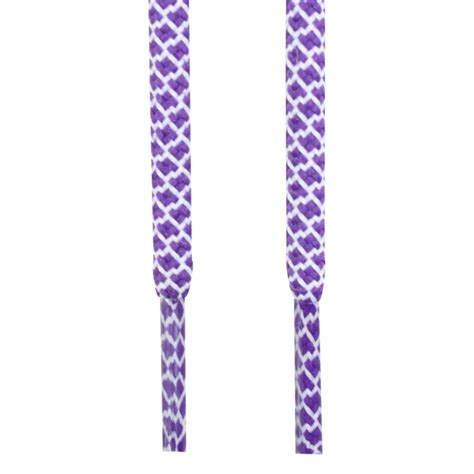 purple white 2 tones rope laces rope lace store
