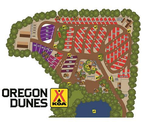 North Bend, Oregon Tent Camping Sites  Oregon Dunes Koa
