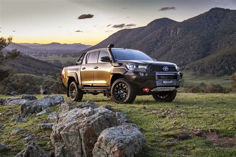 Check out the stunning new light designs and the range of robust wheel designs that further enhance its tough good looks. Tougher, better looking and more powerful Toyota HiLux arrives