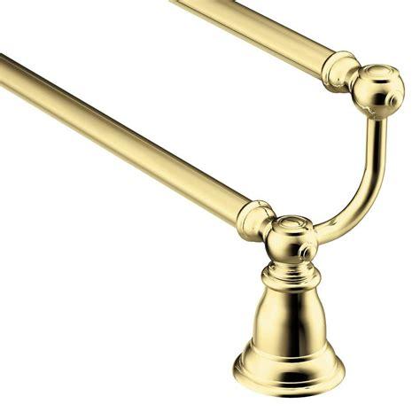 Moen Kingsley Faucet Polished Brass by Moen Kingsley 24 In Towel Bar In Polished Brass