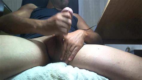 Guy Spanish Big Cock Handjob Masturbate Cumshot Gay