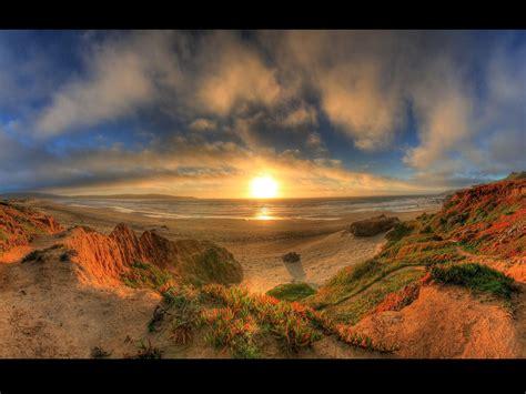 Nature Landscape Sunset Wallpaper