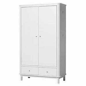 Kleiderschrank 2 Türig Weiß : oliver furniture wood kleiderschrank 2 t rig wei online kaufen emil paula ~ Eleganceandgraceweddings.com Haus und Dekorationen