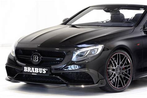 850hp Brabus Mercedes-amg S63 Cabriolet