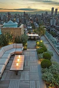 Romantische Ideen Für Sie : die dachterrasse schaffen sie eine wohlf hloase auf dem dach ~ Watch28wear.com Haus und Dekorationen