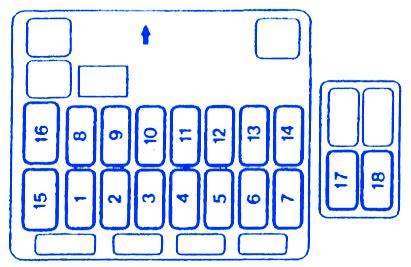 Fuse Diagram 2004 Endeavor by Mitsubishi Endeavor 2004 Fuse Box Block Circuit Breaker