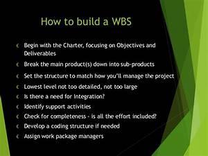 Work Breakdown Structurep