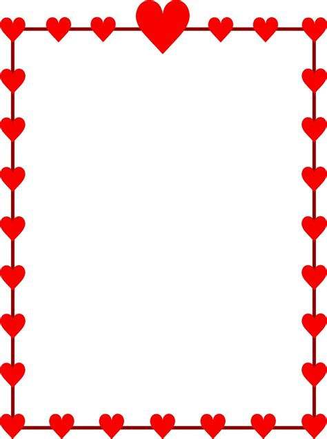 Best Valentine Clipart Border #24663 - Clipartion.com
