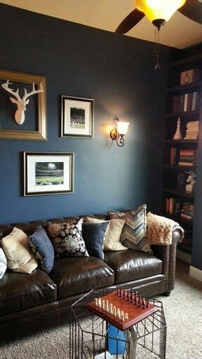 man cave lounge navy blue st george parade home