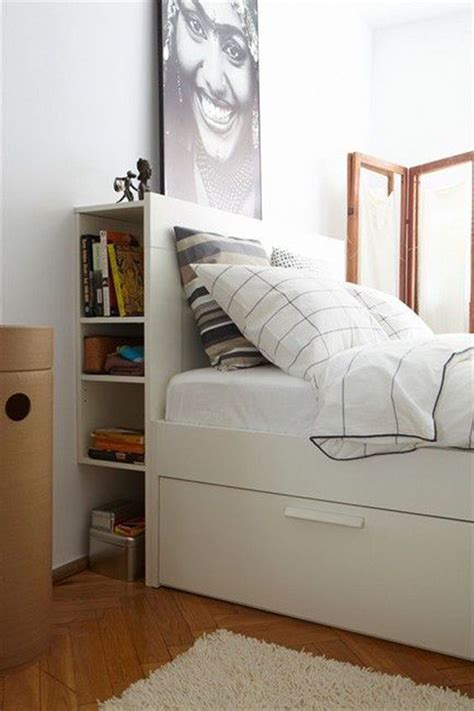 smart storage ideas for tiny bedrooms shelterness 25 smart storage ideas for tiny bedrooms shelterness 25 | 09 open headboard storage and under the bed drawers