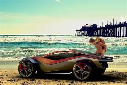 Buggy Beach Icdn Usseek Summer Concept Perfect