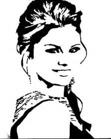 Easy Harry Potter Pumpkin Carving Patterns Free by Selena Gomez Drawing By Deborah Lepor