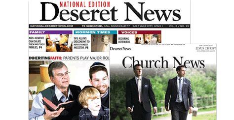 subscribe   church news deseret news national