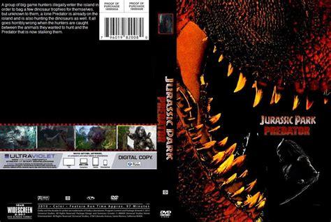 jurassic park cover jurassic park predator dvd cover by steveirwinfan96 on
