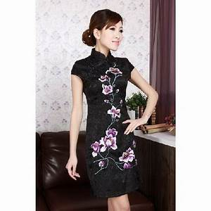 robe chinoise noire With robe chinoise pas cher