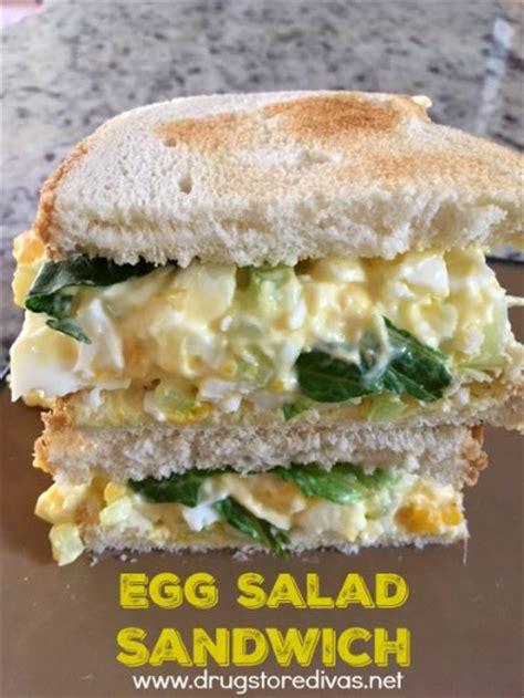 how to make egg salad sandwich cheesy egg sandwich drugstore divas