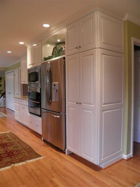 Cabinets Around Fridge by Standard Depth Refrigerator Home Design Ideas Pictures