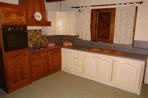 renovation cuisine rustique chene r novation cuisine en ch ne renovation chene