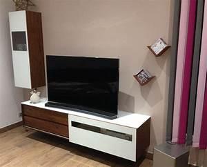 Meuble Tv Design Bois : meuble tv design bois et verre id es de d coration int rieure french decor ~ Melissatoandfro.com Idées de Décoration