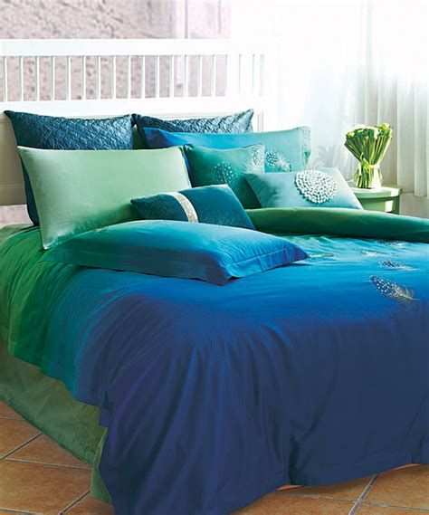 ocean blue comforter sets seasons collection blue bedding set zulily