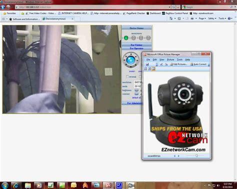 ip wireless security camera set  instructions info