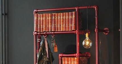 decorgin industrial bookcase  bookshelf design