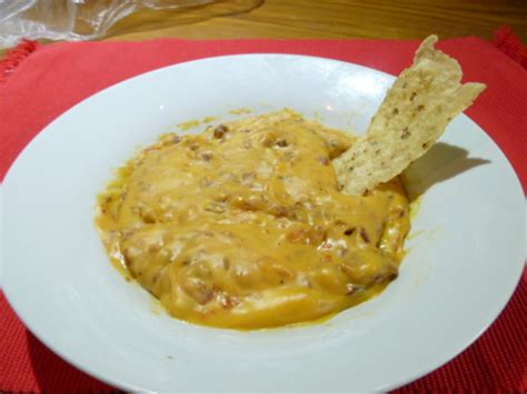 rotel cheese dip rotel cheese dip w beans recipe food com
