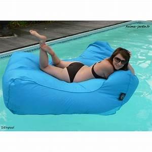 Pouf De Canapé : fauteuil flottant piscine sitinpool canap de piscine ~ Teatrodelosmanantiales.com Idées de Décoration