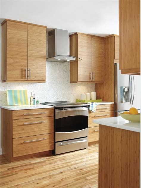 bamboo kitchen design the clean lines and modern look of kitchen craft s summit 1464
