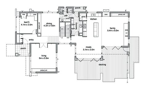 small 2 bedroom 2 bath house plans designs for narrow lots to build